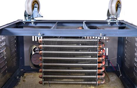 冰棺铜管散热器