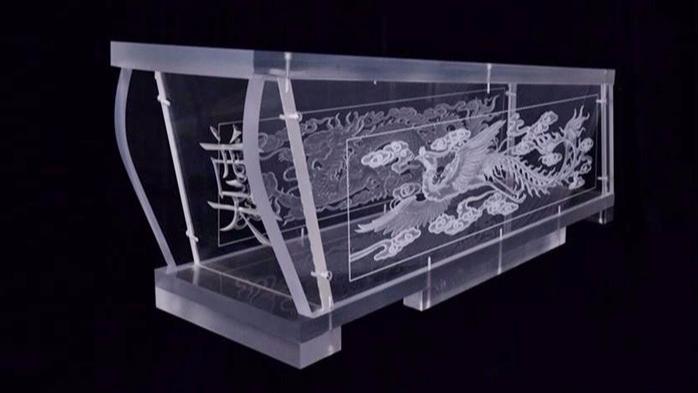 吉远透明水晶棺材