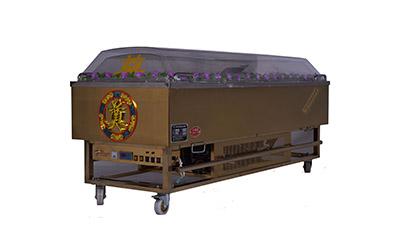 吉远冰棺的水晶棺拉手是什么材质?