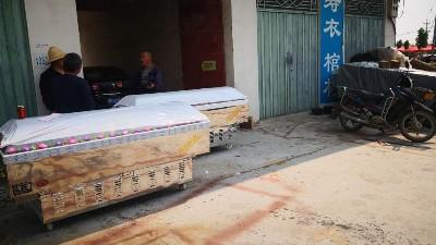 河南平顶山叶县个人出租户-吉远冰棺客户案例