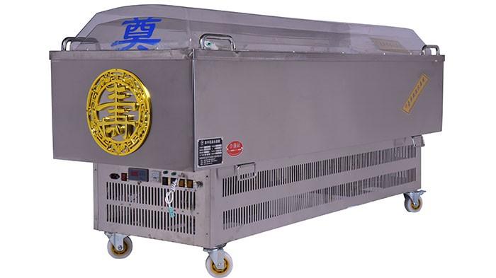 吉远冰棺,棺盖要多少度的高温才能成型?