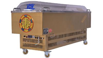 """吉远冰棺告诉您""""水晶棺""""工作多长时间可以达到冷冻效果"""
